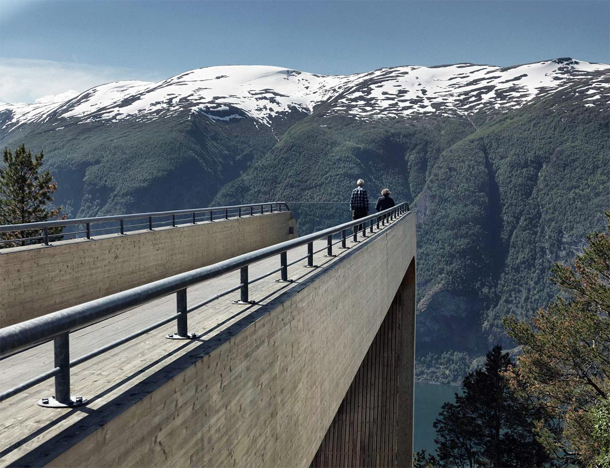Aurland Viewing Platform
