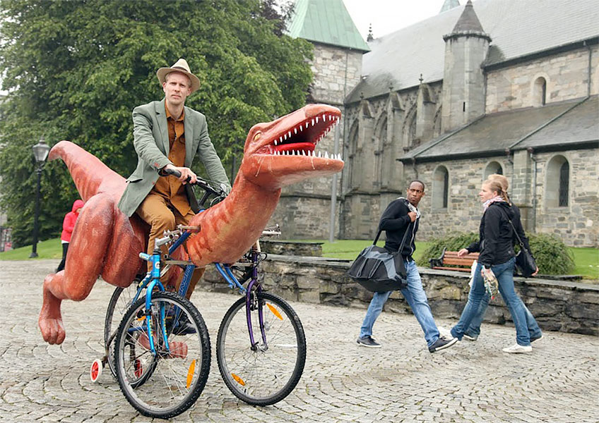 Dinosaur Bicycle