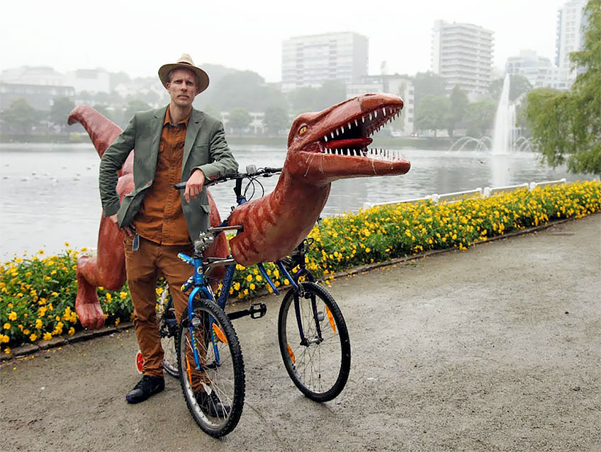 Markus Moestue Dinosaur Bicycle