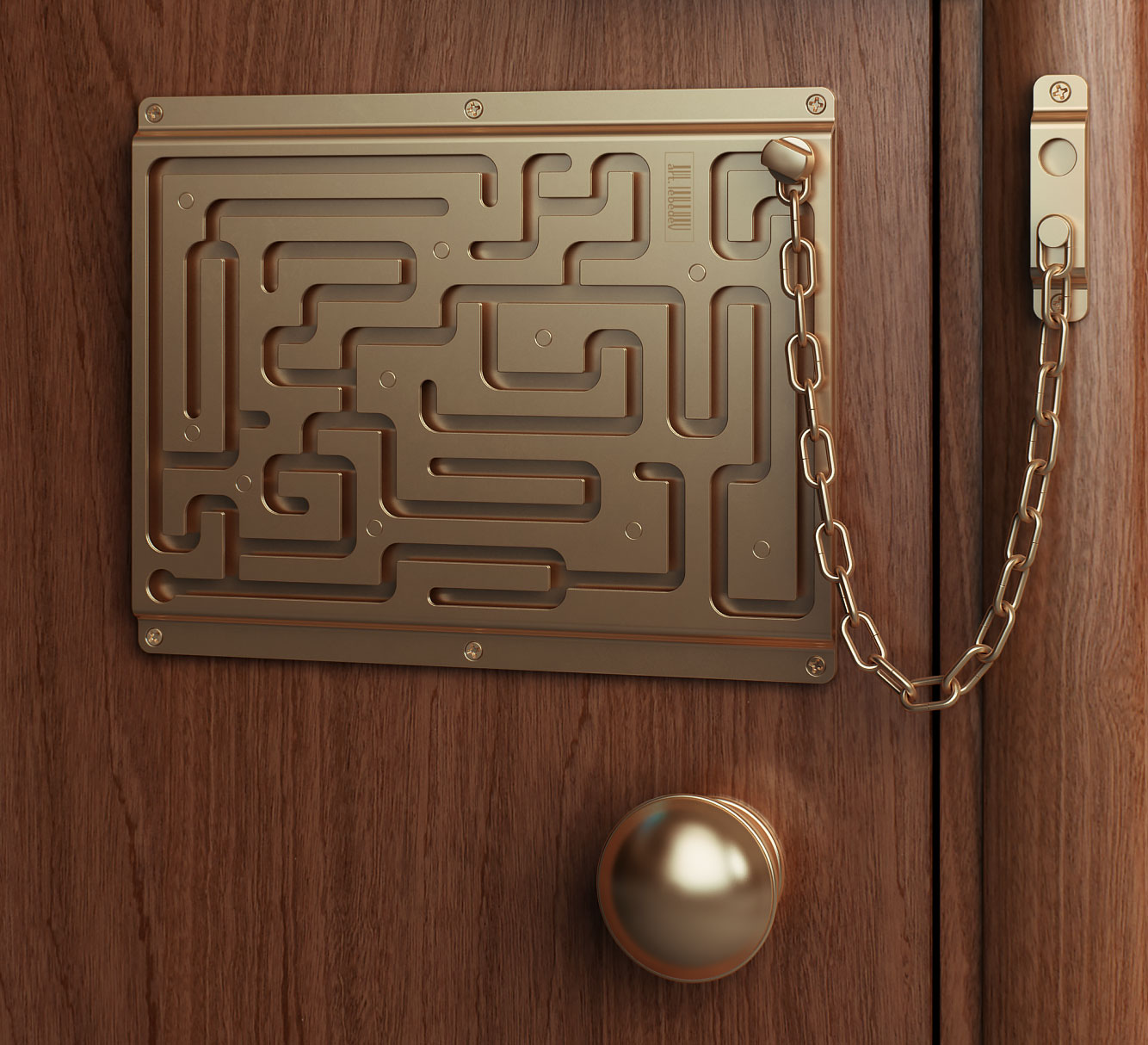 Labyrinth Door Chain