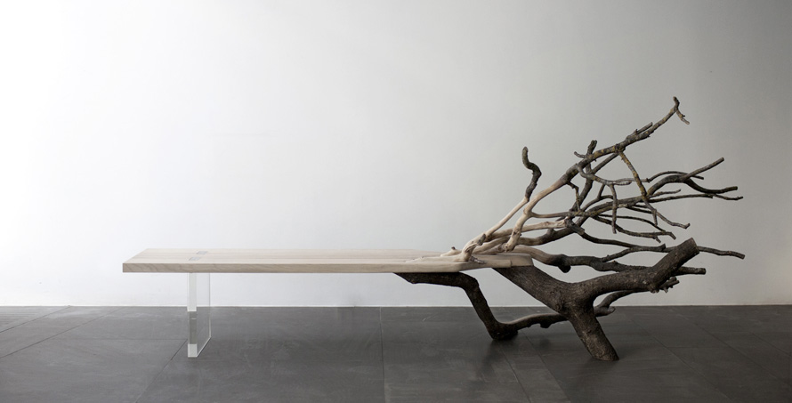 Benjamin Graindorge Tree Bench