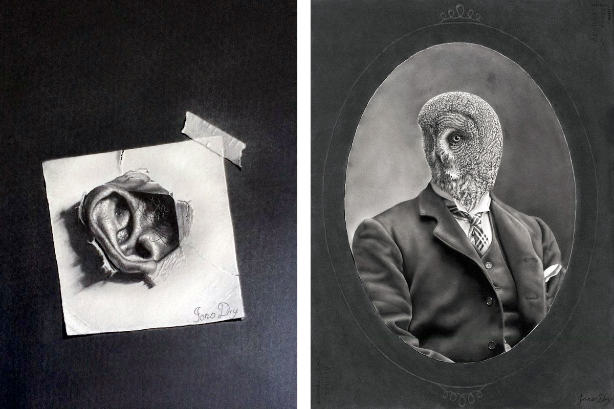 Drawings by Johno Dry