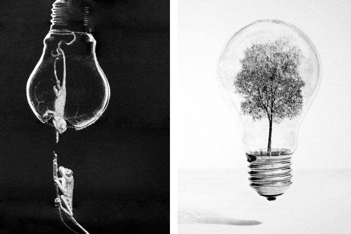 Pencil Art by Jono Dry