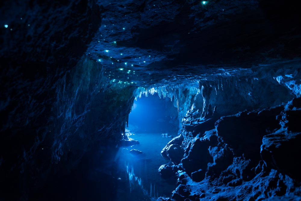 Glowing Cave