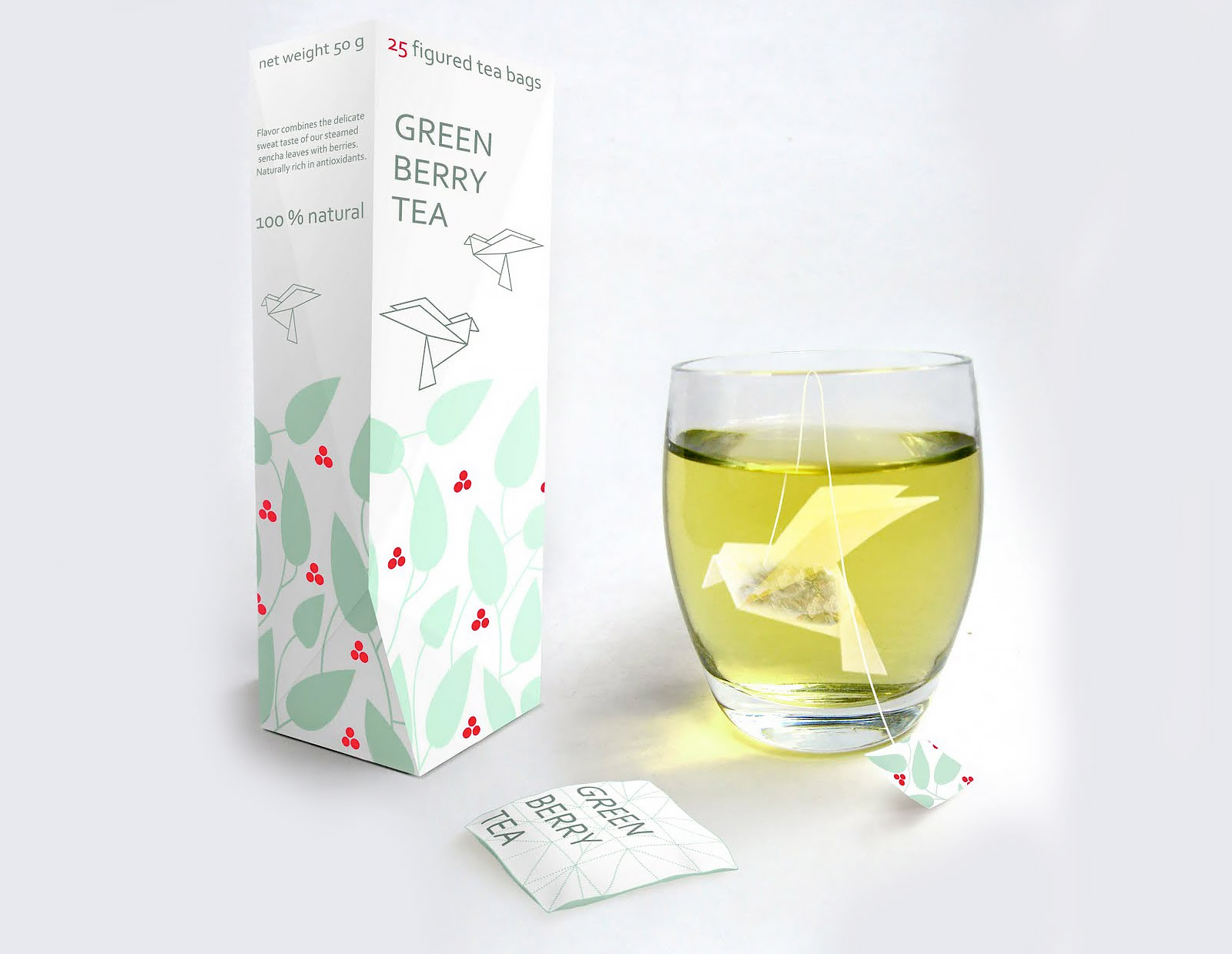 Origami Tea Packaging