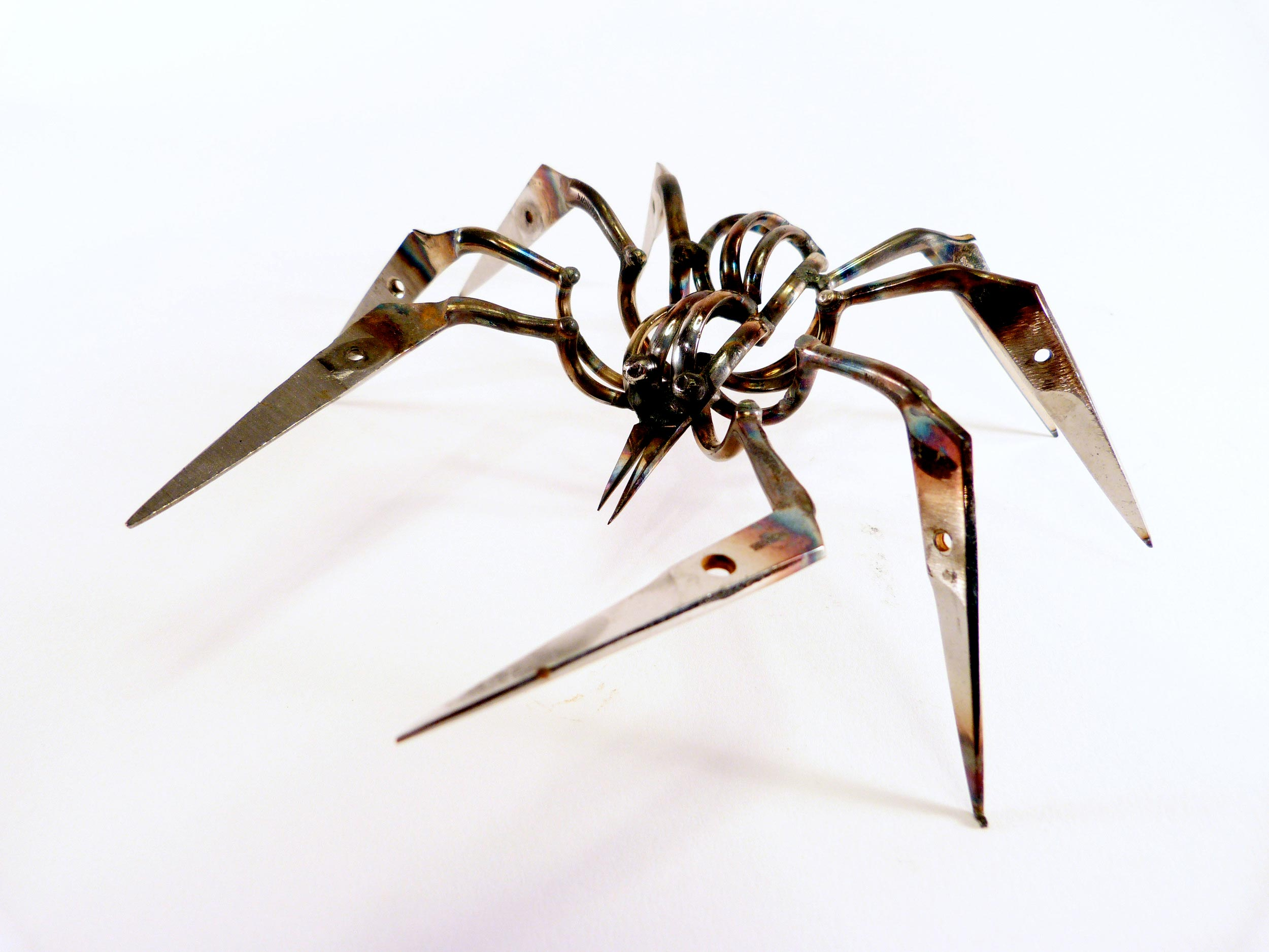 Christopher Locke Scissor Spiders