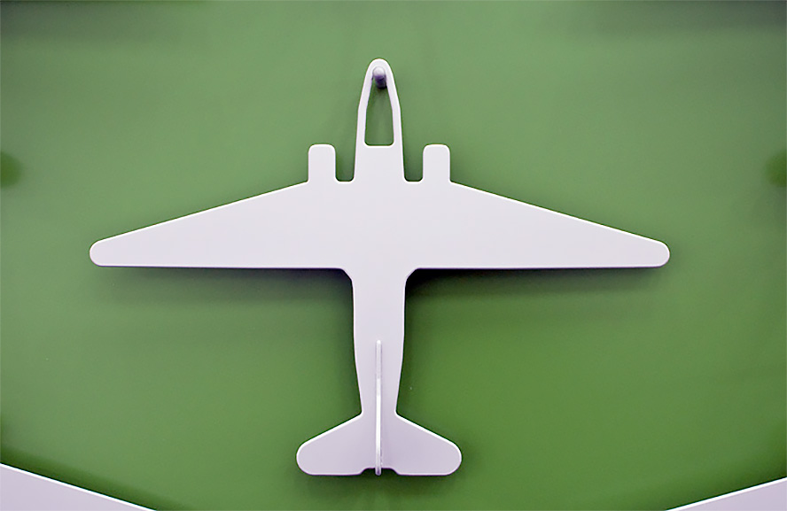 Airplane Clothes Hanger