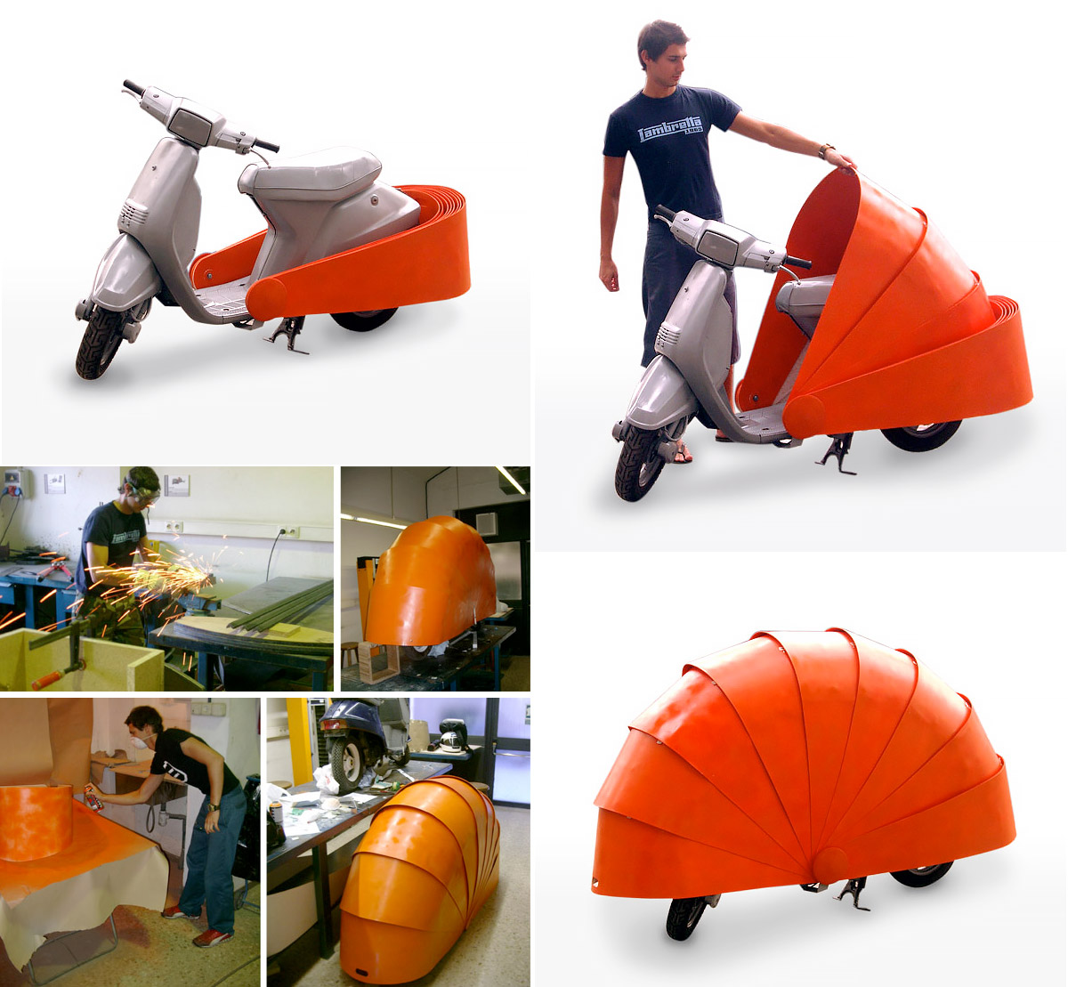 Scooter Shell