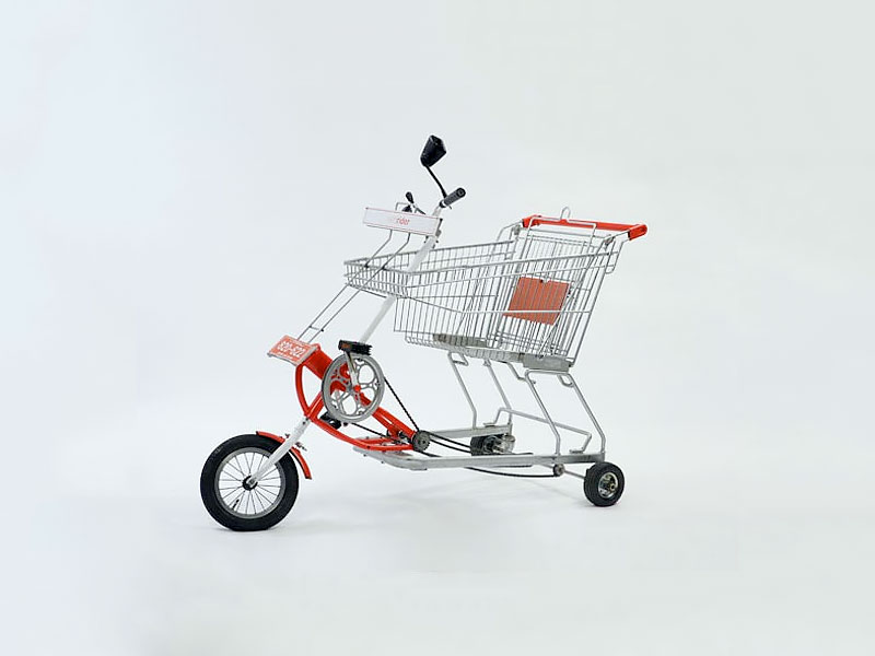 Shopping Cart Bicycle