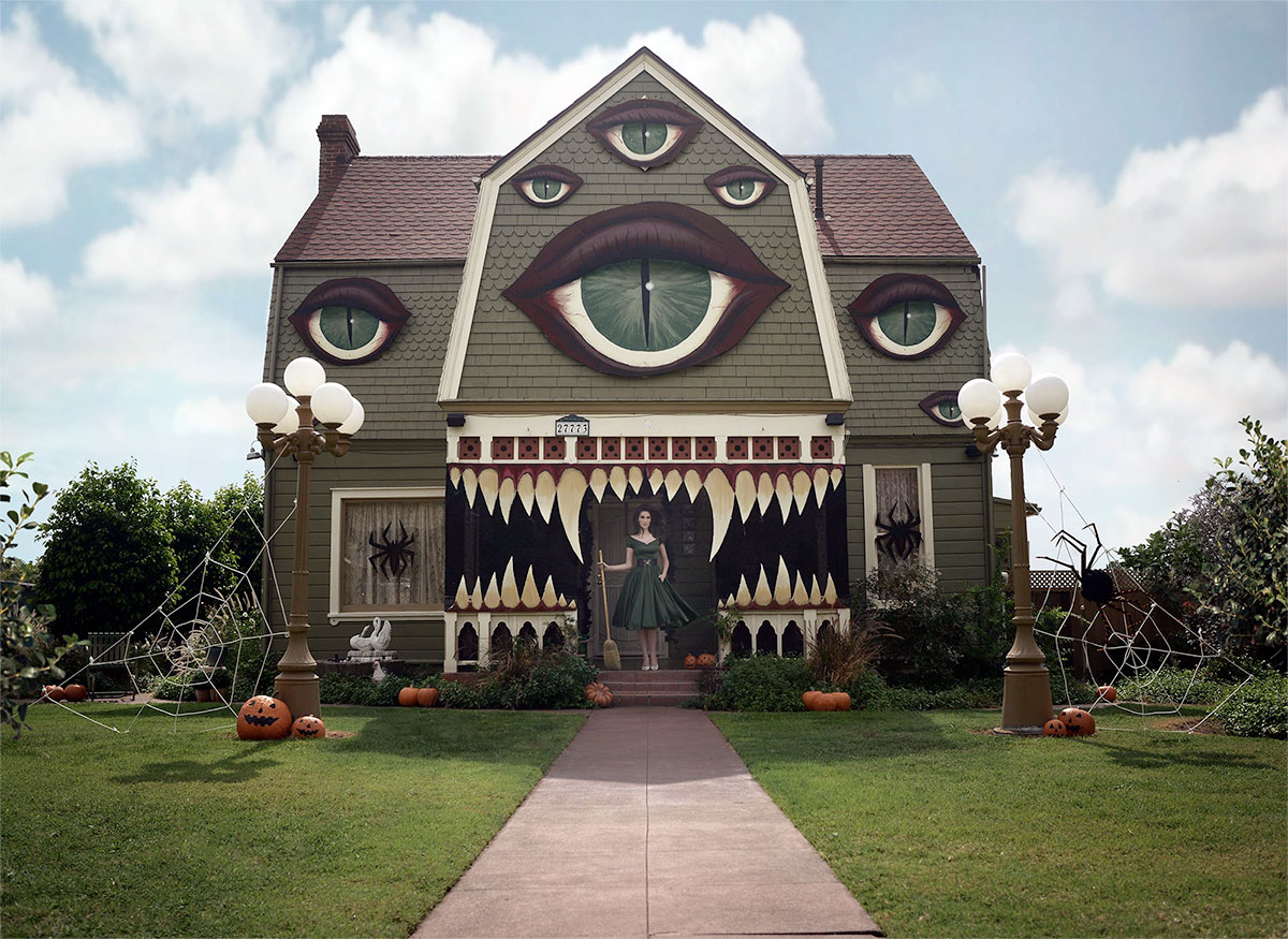 Christine McConnell Halloween House