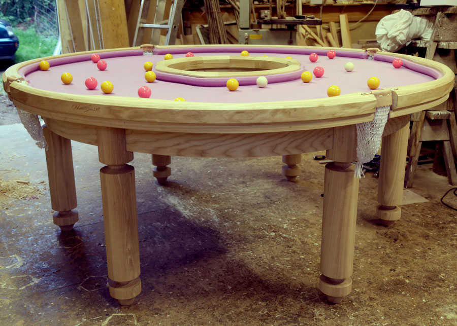 Donut Shaped Pool Table