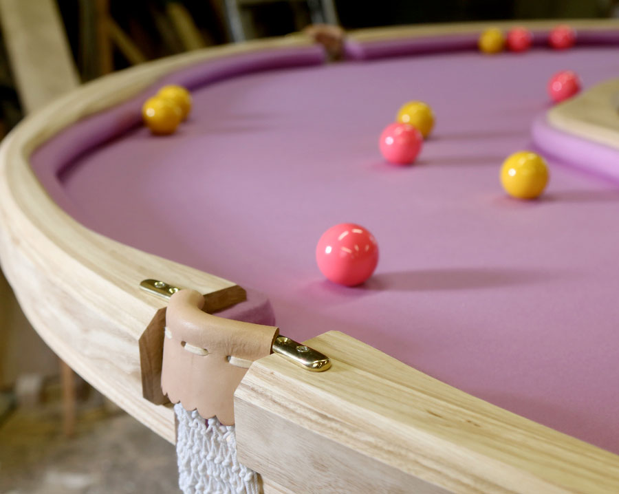 Cleon Daniel Donut Pool Table
