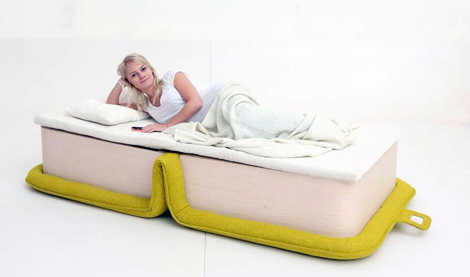 Elena Sidorova Flop Chair Bed