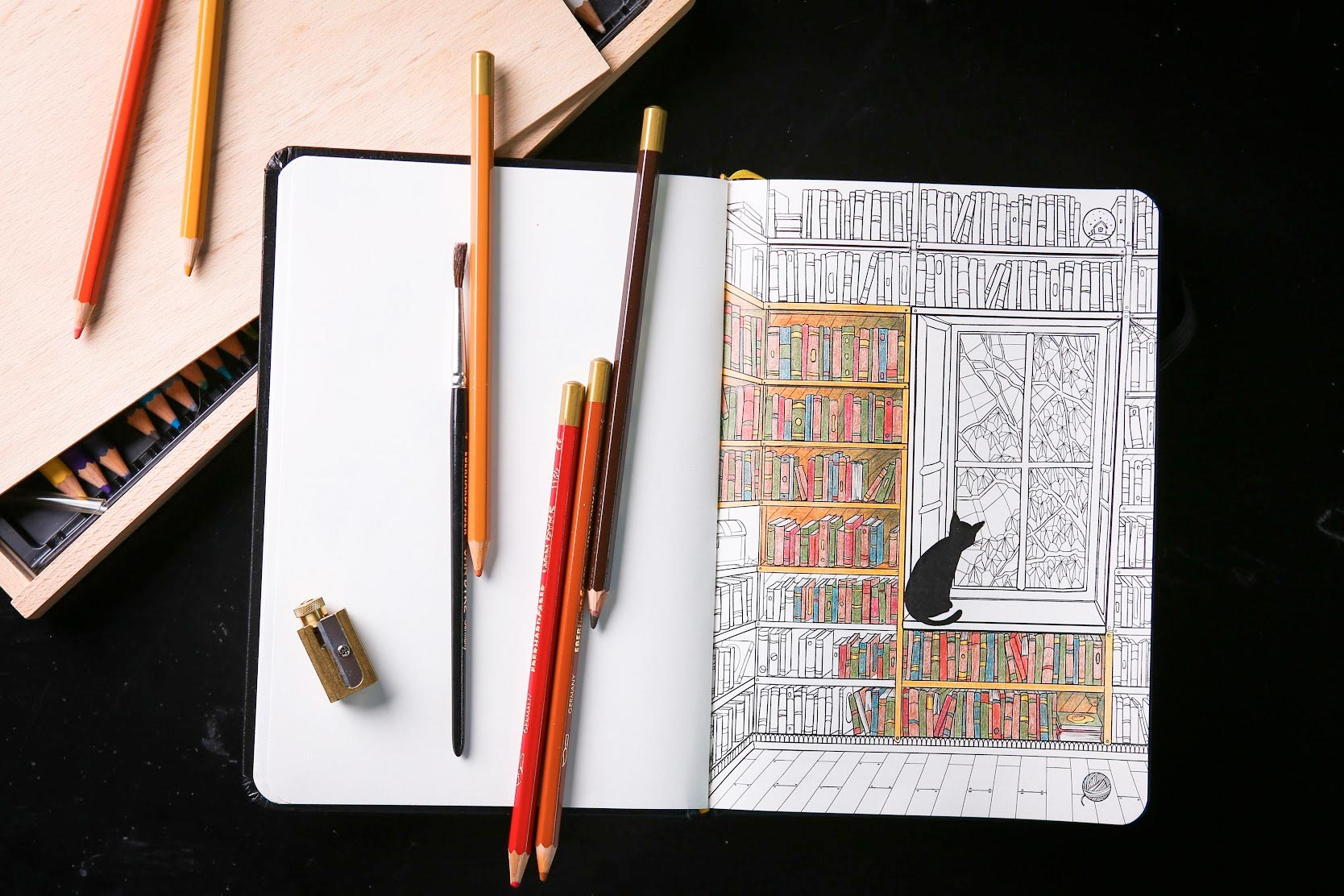 Coloring Notepad
