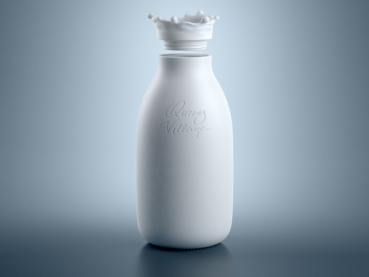 Milk Splash Bottle