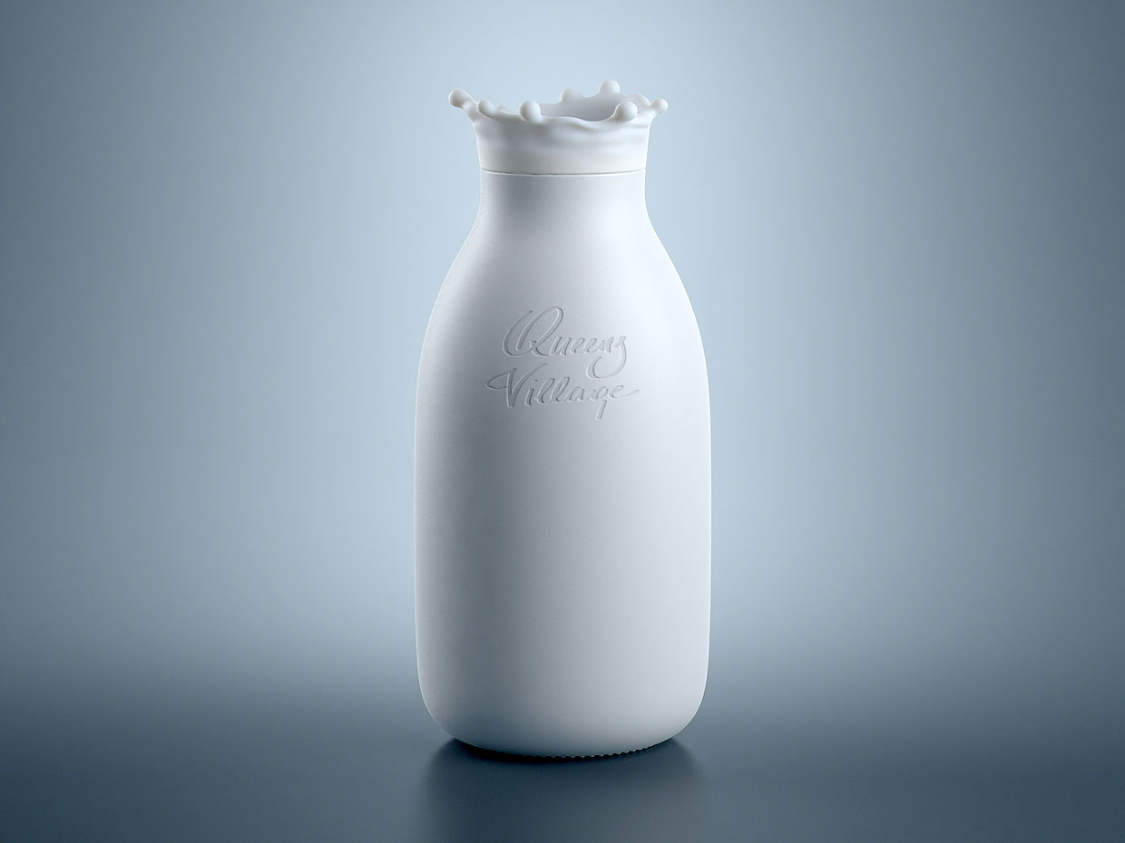 Dmitry Patsukevich Milk Bottle