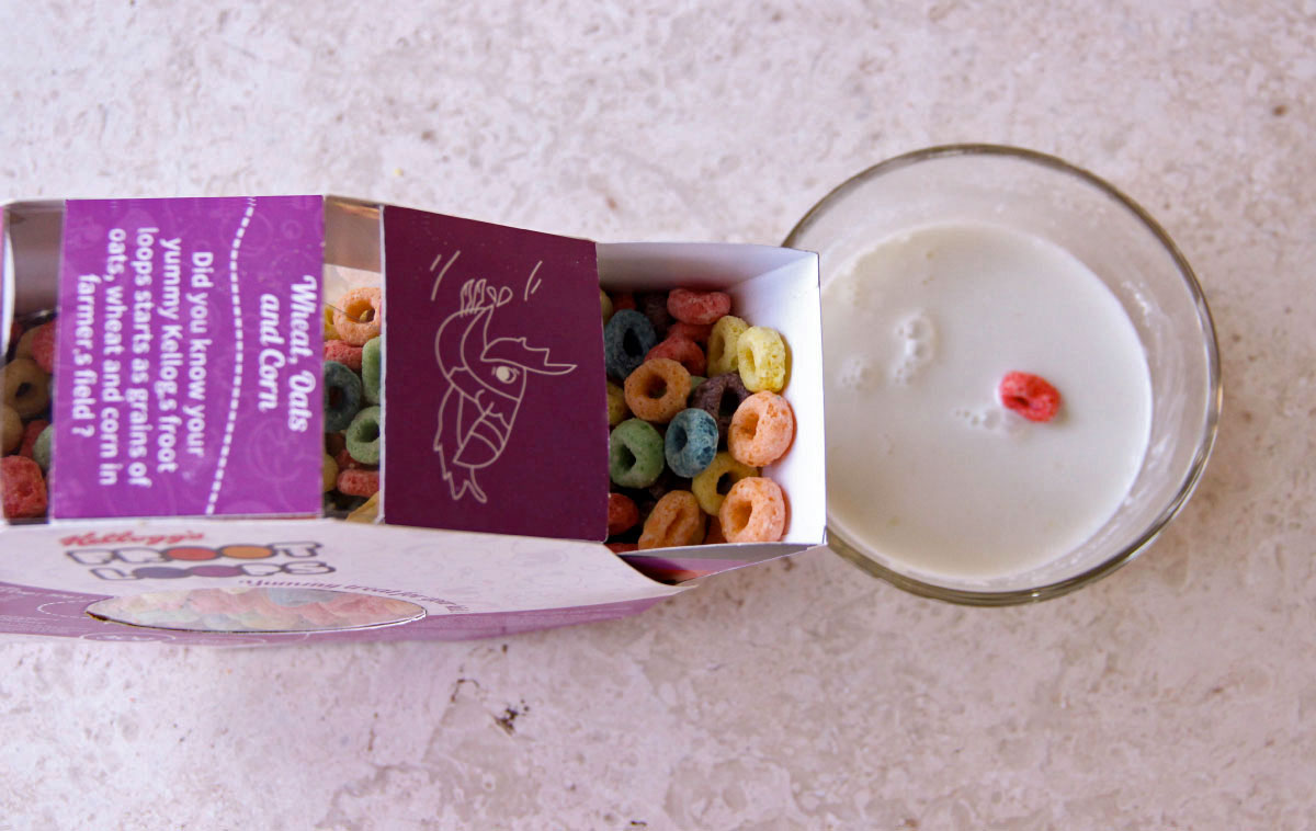 Fruit Loops Packaging