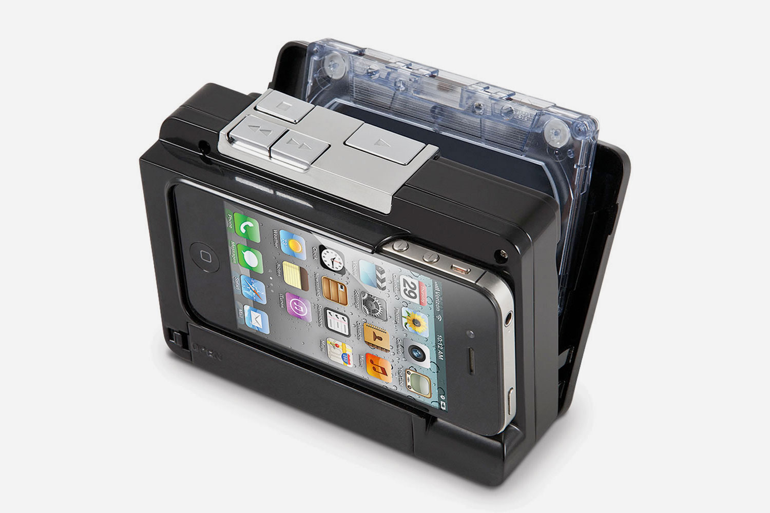 Cassette to iPhone Converter