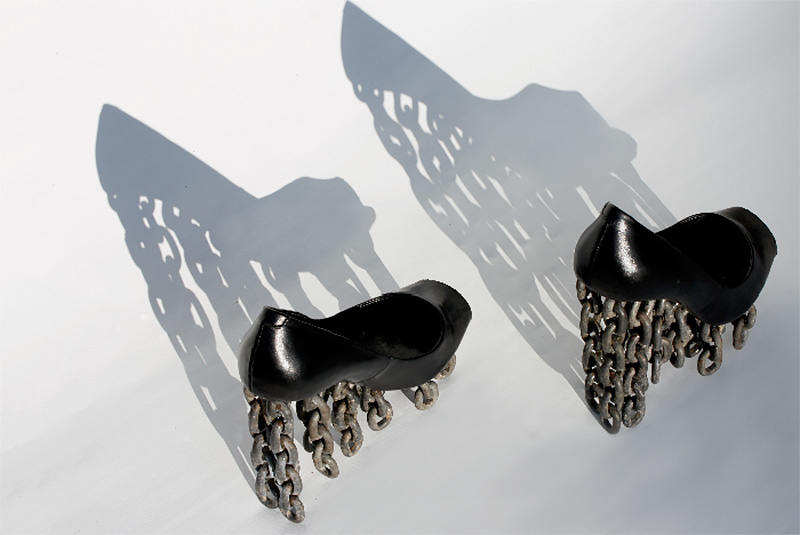 Tove Jansson Chain Shoes