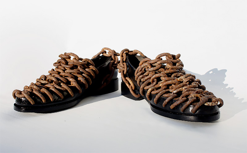 Shoes Made of Shoes