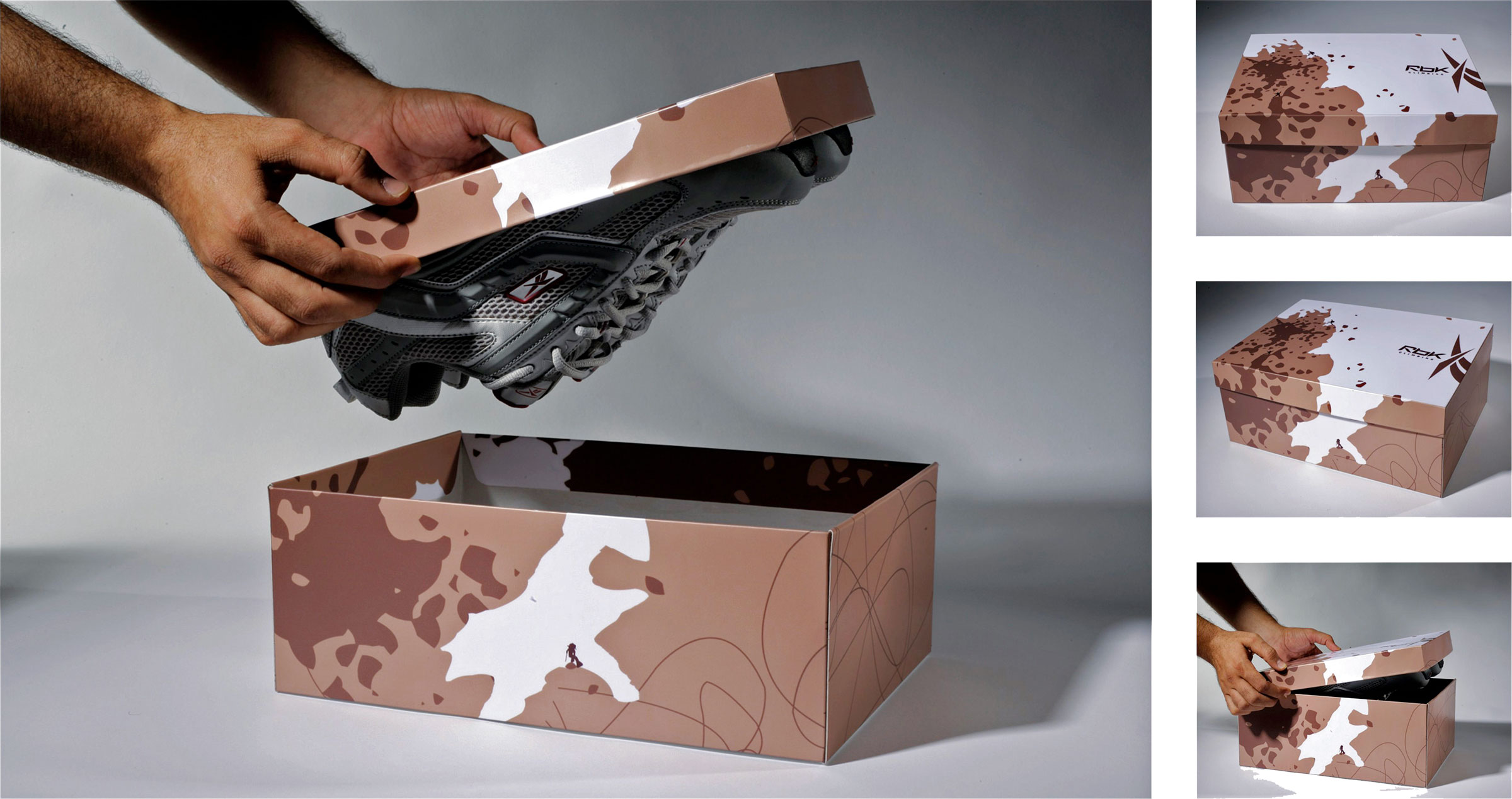 Climbing Shoes Packaging