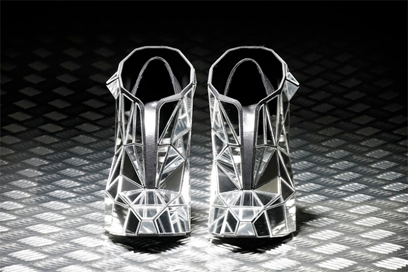 Andreia Chaves Mirror Shoes