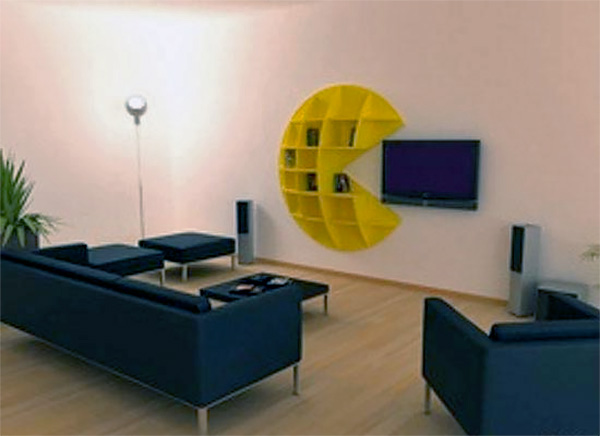 Exceptional Pac Man Bookcase Nice Ideas