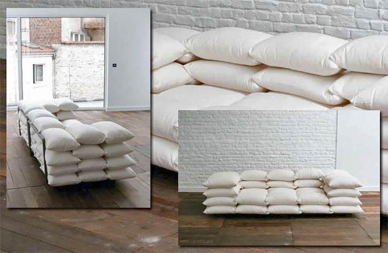 Wonderful Pillow Sofa