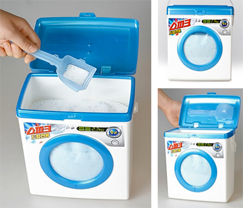 Washing Machine Laundry Detergent Box