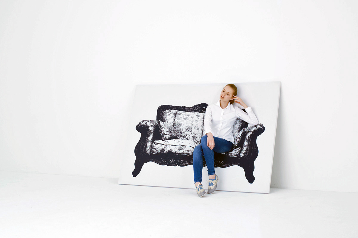 YOY Canvas Sofa