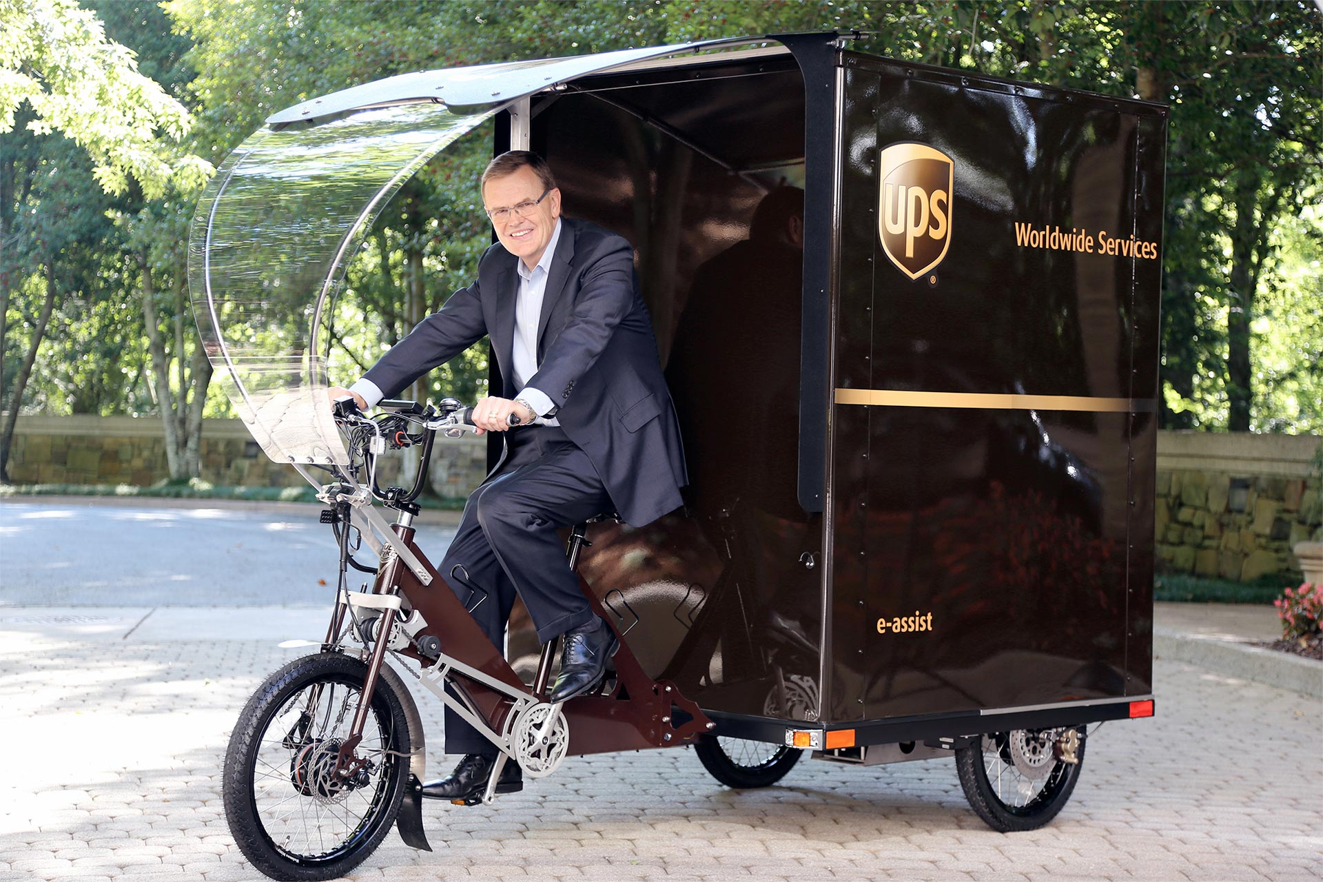 UPS Bicycle
